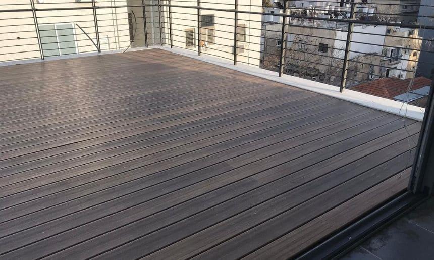 דק מעץ למרפסת